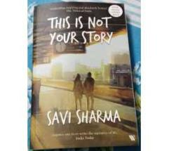 this is not your story - By shiv sharma