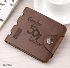 Trendy Men's Leatherette Wallets