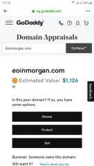 Eoinmorgan.com domain is Available sale