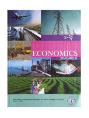 Economic for 11th standard commerce student