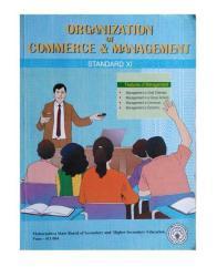 Organization of  commerce & management