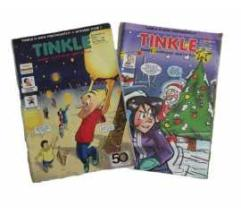 two sets of tinkle : vol 36 No. 658 & Vol. 37 No. 678 at lowest price